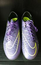 NIKE Men's Soccer Cleats Hypervenom Phinish FG Size 8.5  Grape 749901-550