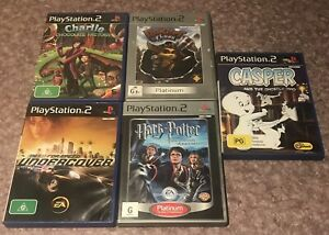 PS2 Games Bundle x5 - All Complete With Manuals!! - PAL 🔥