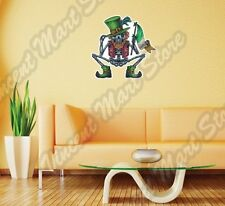 "Ireland Flag Irish Skeleton St. Patrick Wall Sticker Room Interior Decor 22""X22"""