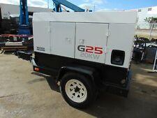"2007 WACKER G25 ""ISUZU DIESEL"" 3 PHASE TRAILER MOUNTED GENERATOR - 60 GAL TANK"