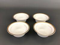 4 vintage NORITAKE - Morimura Bros.  porcelain ramekins 1930s
