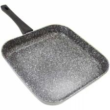 Stonewell Square Grill Granite Effect Non Stick Fry Griddle Induction Frying Pan