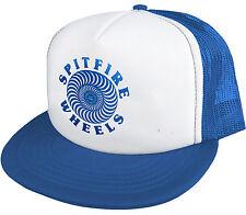 SPITFIRE - OG Logo - Foam Trucker Hat Mesh Cap / Spitfire Skateboard Co - Blue