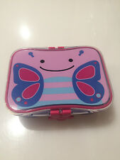 Skip Hop Zoo Little Kid Lunch Kit Butterfly Toddler Feeding Lunch Box