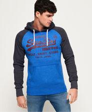 Superdry Mens Sweat Shirt Store Raglan Hoodie