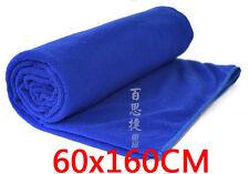 Towel Hot useful 60x160CM Blue Microfiber Car Wash Cleaning Polish Cloth
