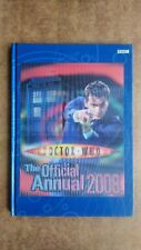 The Official Annual: 2008 by BBC (Hologram Hardback, 2007) - David Tennant