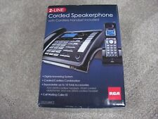 Brand New RCA 25255RE2 2-Line Corded Speakerphone with Cordless Handset