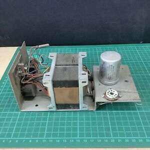 Vintage Valve Transformer Power Supply With Smoothing Capacitor