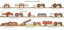 Vintage Massey Ferguson 35 65 Attachments Guide SALES BROCHURE/POSTER ADVERT A3