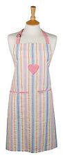 Sterck - 100% Cotton Adult Apron - Beli Heart - Pastel Stripe - Standard 70x78cm