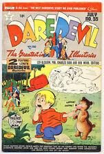 Daredevil #55 Vg, Golden Age Lev Gleason Comics 1944