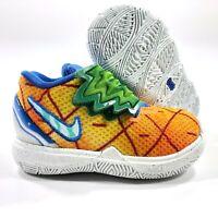 Nike Kyrie 5 SBSP TD Spongebob Squarepants Pineapple House CN4490-800 5C