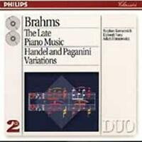 BRAHMS The Late Piano Music 2CD NEW (STORE DISPLAY COPY)