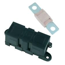 Panel Mount Inline Mega Fuse Holder + 250A Fuse Car Van Marine Truck 12V 24V