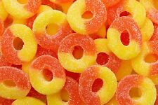 SweetGourmet Albanese Peach Gummi Rings (Gummy Candy) -  1LB FREE SHIPPING!