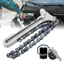 """Heavy duty 17.5"""" Chain Oil Filter Wrench Capacity 6"""" Oil Filter Chain Wrench"""