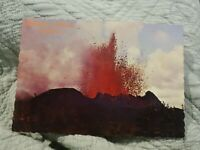 Volcano Eruption, Island of Hawaii - Vintage Postcard
