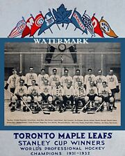 1931 - 32 Stanley Cup Champion Toronto Maple Leafs Team Photo 8 X 10 Picture