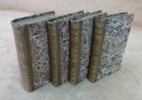 J.J ROUSSEAU - CONFESSIONS 5 TOMES  - MENARD ET DESENNE, FILS 1824