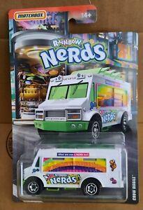 Matchbox Rainbow NERDS Candy Chow Mobile Mattel