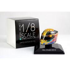 Spark 1:8 HSP024 Lewis Hamilton Helmet Abu Dhabi GP 2013 - Mercedes AMG F1 Team