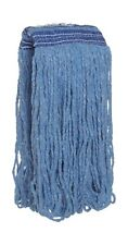 Rubbermaid Commercial FGE23600BL00 Universal Headband Wet Mop Head, Blue Blended