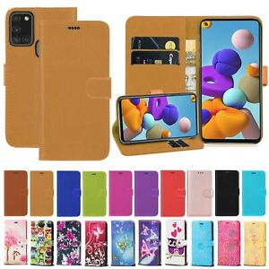 For Samsung Galaxy A21s A31 A21 A41 A20s PU Leather Flip Wallet Stand Case Cover