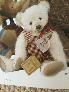 Mary George Artist Bear Teddy Bears Of Witney Exclusive.