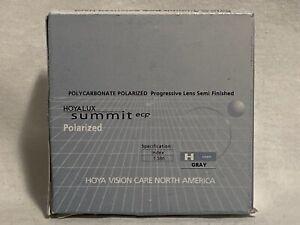 Hoya Summit ECP Poly-C Polarized Progressive Lens Semi Finished Gray 3.00 1.75 R