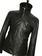 BNWT MENS GIEVES & HAWKES SAVILE ROW SHEARLING LEATHER BOMBER JACKET COAT 44R