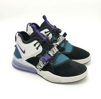 new concept b1af3 d4c55 Nike Air Force 270 Shoes Sneakers Black Gray Teal Purple Sz 12 Mens 111