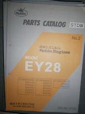 ROBIN Engines EY28 : Parts Catalog 01/1999