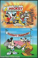 Dominica Disney Hollywood Mickey S/S Set Scott #1216/17 Mint Never Hinged