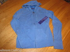 Miley Cyrus Max Azria girls Long Sleeve hoodie XS 453000-428 Prncsblue NWT ^^