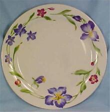Gibson Whisper Dinner Plate Stoneware Blue Pink Flowers Dinnerware & Pink Stoneware Dinnerware | eBay