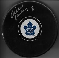 Pierre Jarry Signed Toronto Maple Leafs Puck