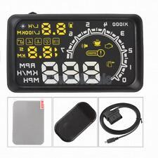 Universal GPS HUD Head Up Display MPH/ KM/h Car Speeding Warning W02