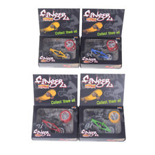 Mini Finger BMX Bicycle Flick Trix Finger Bikes Toys Novelty Gag Toy Kids GiftHT