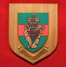 Ulster Defence Regiment UDR-British Army Plaque Shield- Northern Ireland Toubles