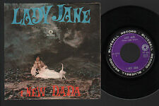 "7"" NEW DADA LADY JANE / 15° FRUSTATA ROLLING STONES ITALIAN WORDS BLUEBELL 1967"
