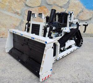 Lego Technic 8275 RC Bulldozer / Planierraupe in weiß Unikat