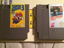 NES Game Lot Mario 3 Metroid