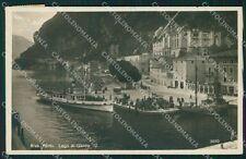 Trento Riva del Garda Laga di Battello Foto cartolina QT4202