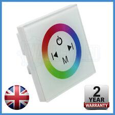 Blanco de la pared de montaje RGB controlador multifunción para RGB LED Tira 5050 2835