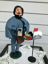 Byers Choice Caroler 1993 The Postman and the Byers Choice Mailbox