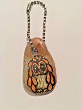 Stone Owl Key Chain Keychain Purse Charm