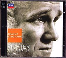 Sviatoslav RICHTER The Master Vol.7 BRAHMS Piano Sonata 1 2 SCHUMANN Fantasy 2CD