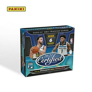 2020-21 PANINI CERTIFIED NBA TRADING CARDS ASIA EXCLUSIVE