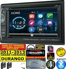 2011-2013 GRAND CHEROKEE & DURANGO CD/DVD BLUETOOTH USB OPT. SIRIUSXM CAR RADIO
